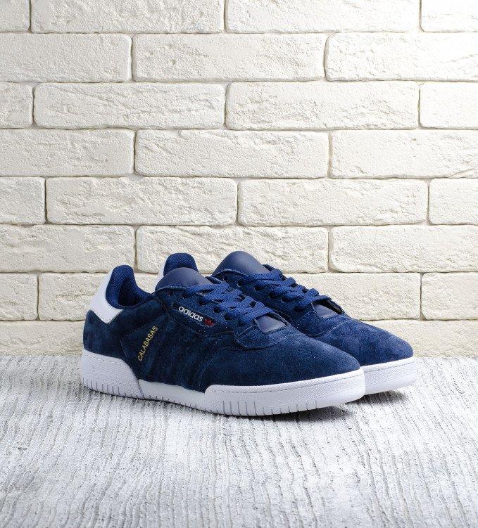 Adidas Calabasas suede blue