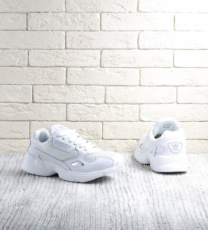 Adidas Falcon All white