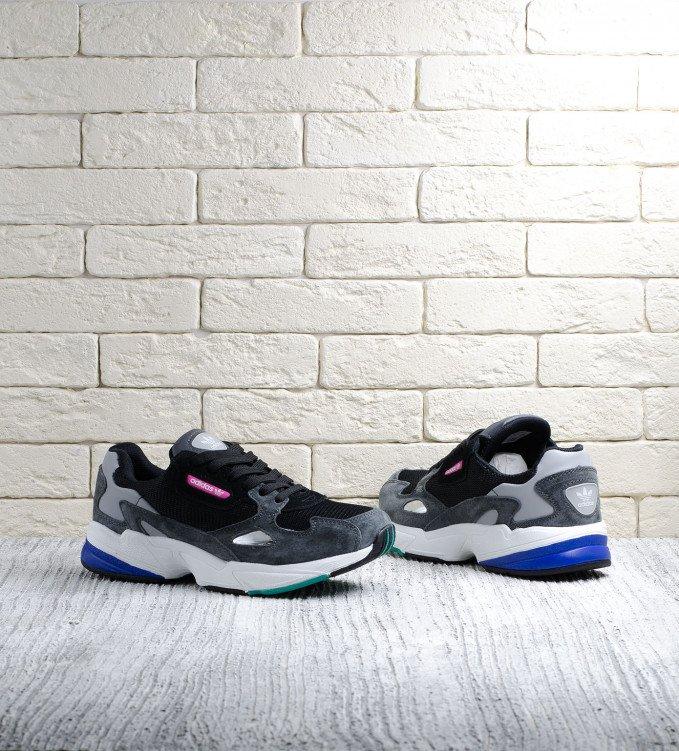 Adidas Falcon black-grey