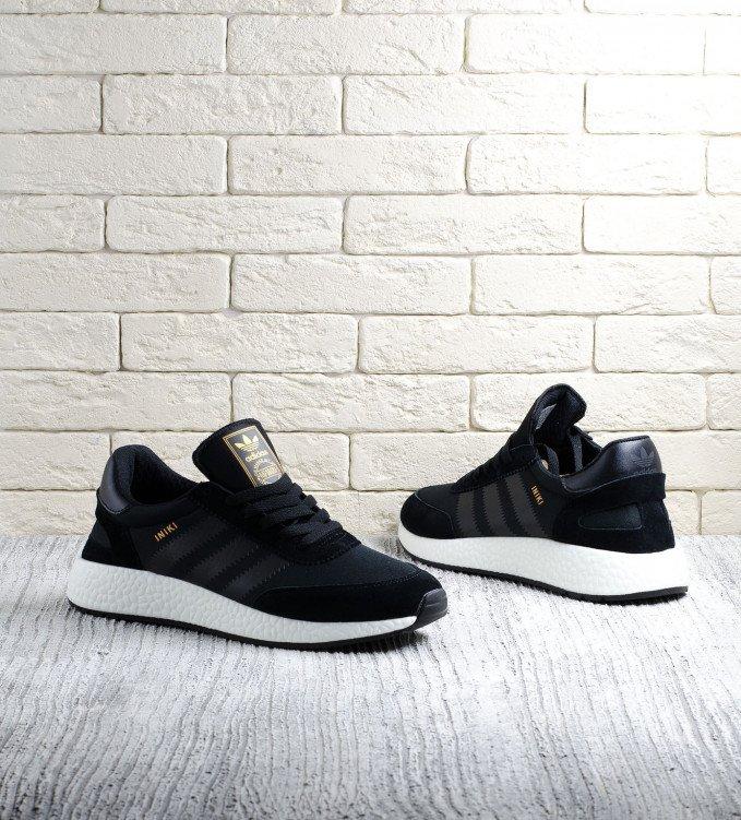 Adidas Iniki black-white