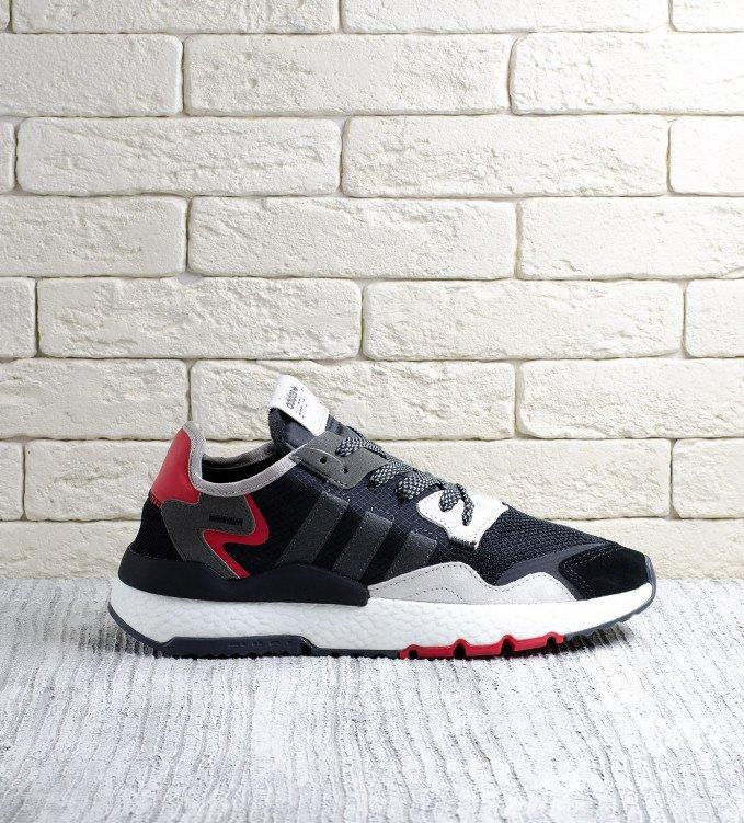 Adidas Nite Jogger black-red