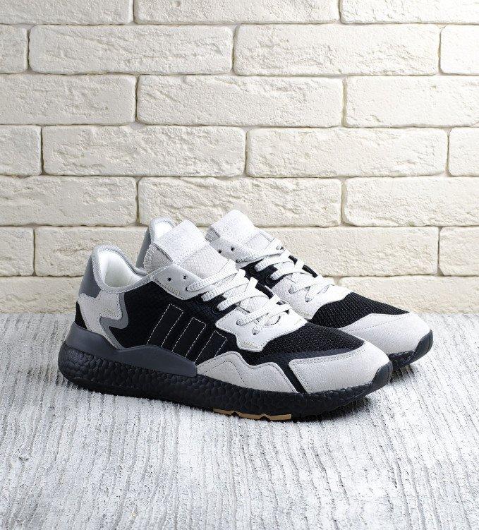 Adidas Nite Jogger Sand-black