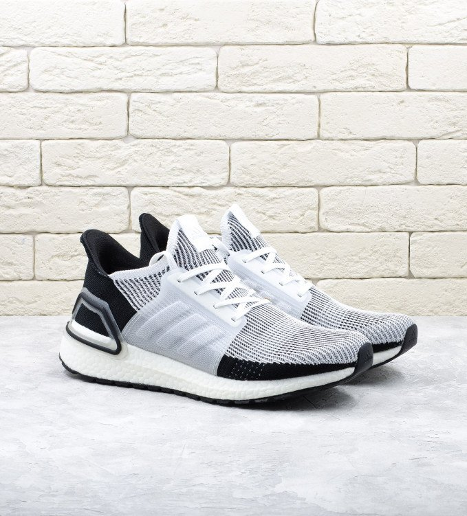 Adidas Ultraboost 19 white-black