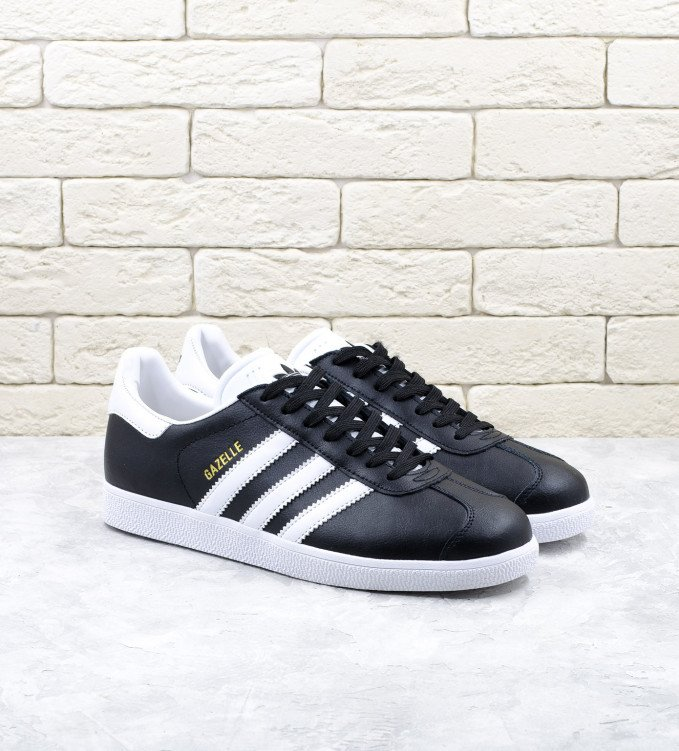 Adidas Gazelle leather black