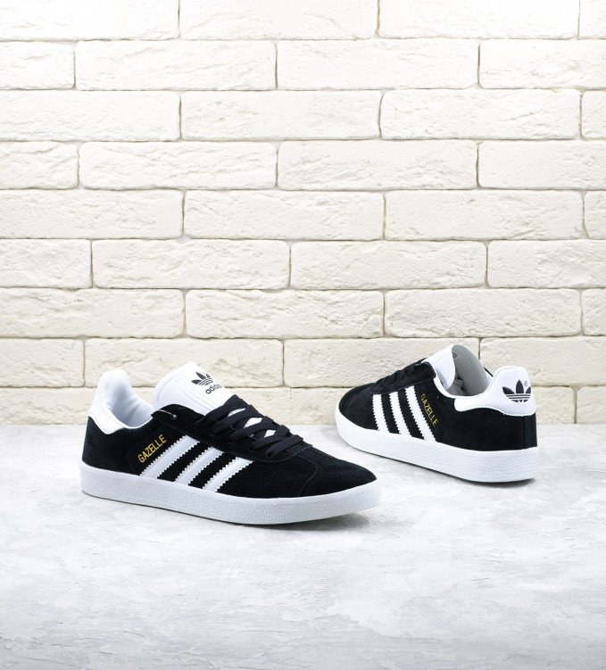 Adidas Gazelle suede black