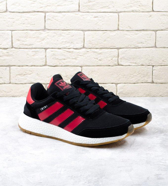 Adidas Iniki Boost Black-red