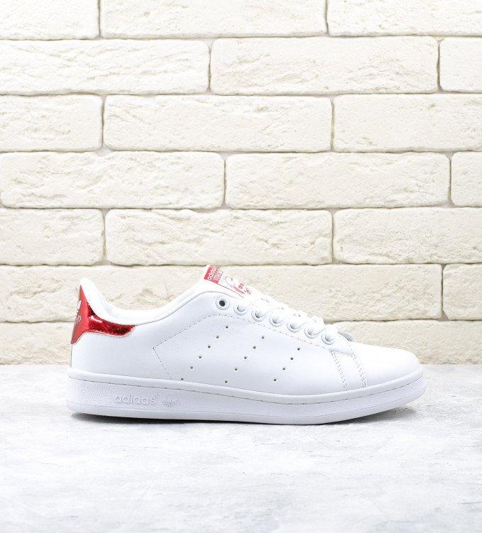 Adidas Stan Smith White-Red