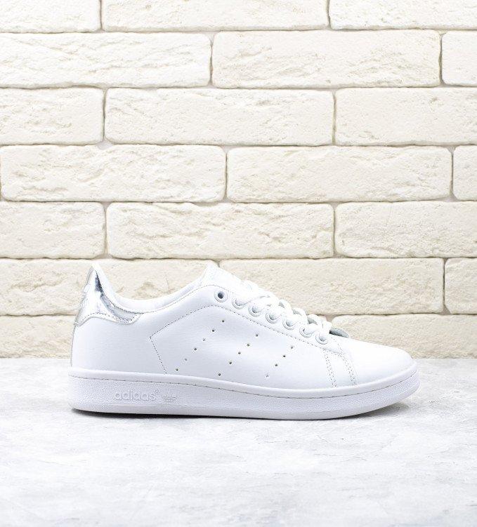Adidas Stan Smith White-Silver