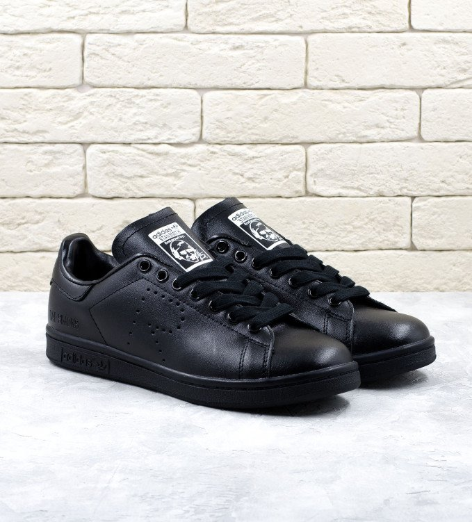 Adidas Stan Smith x Raf Simons Black