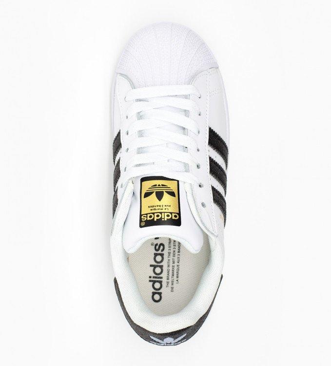 Adidas Superstar glowing black str