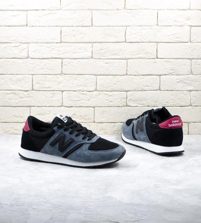 New Balance 420 grey-black