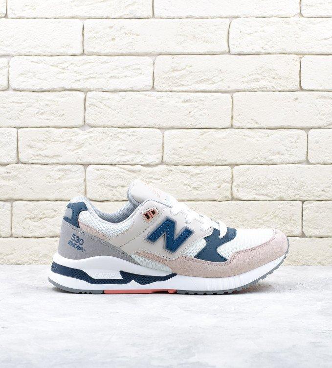 New Balance 530 Peach-white