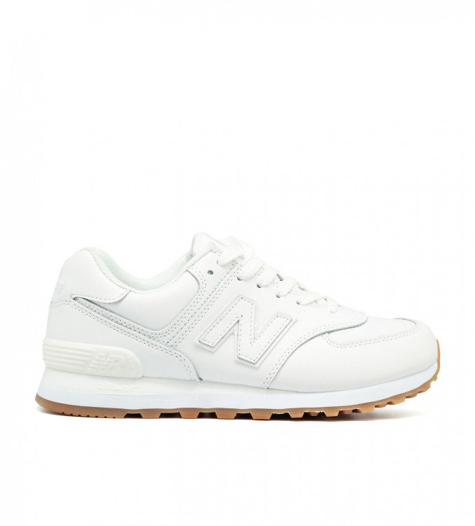 New Balance 574 All White