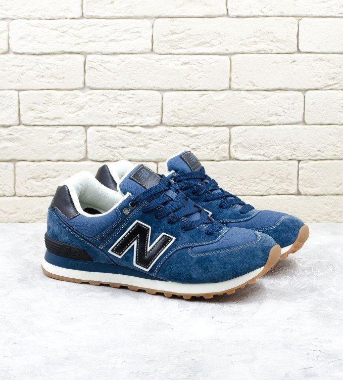 New Balance 574 Blue-black