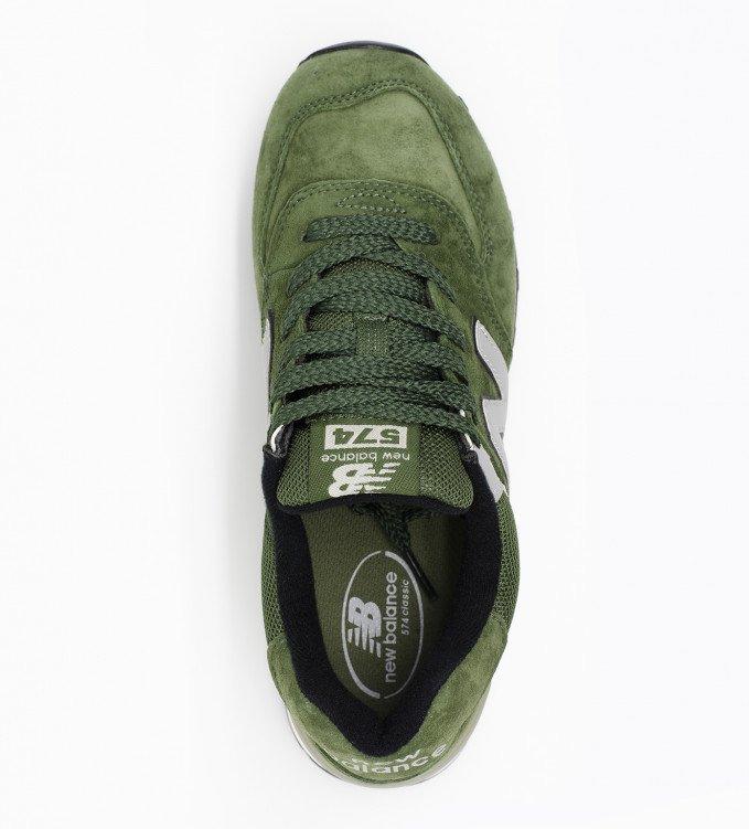 New Balance 574 Dark Green