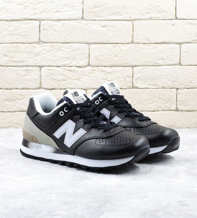 New Balance 574 Gradient Black