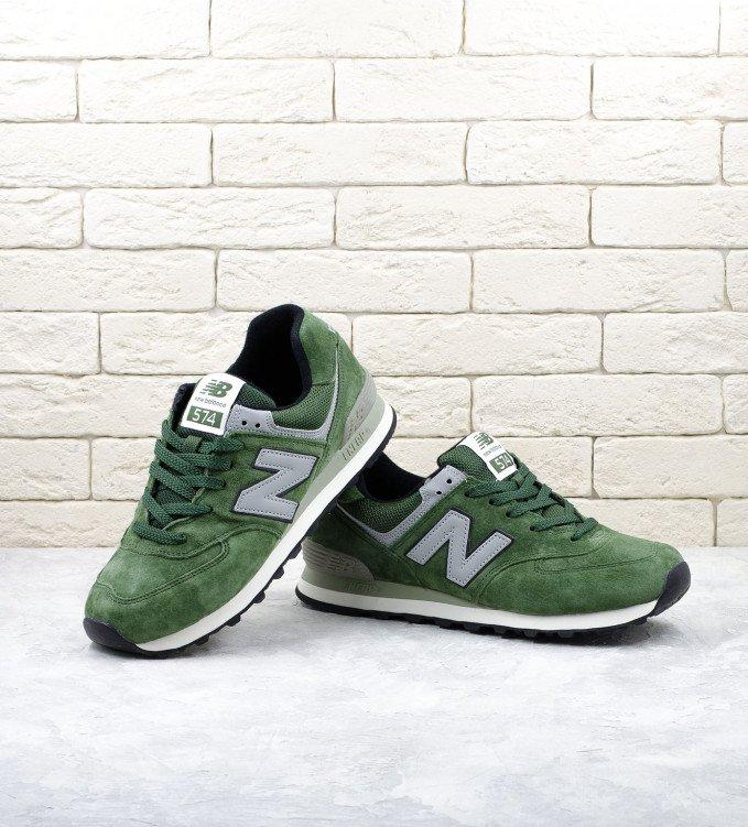 New Balance 574 Grass Green