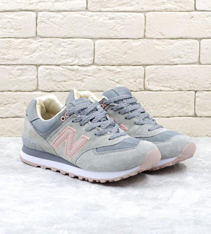 New Balance 574 Grey-Pink