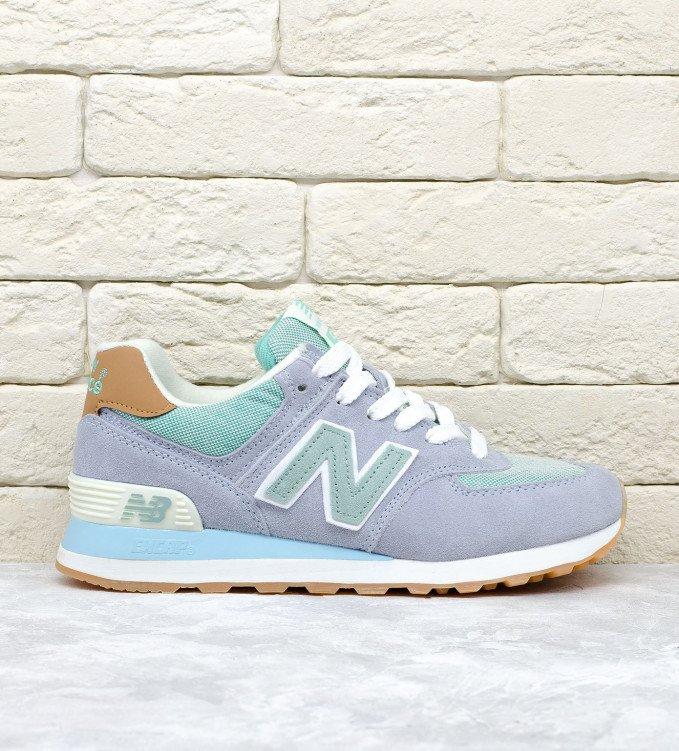 New Balance 574 Mint-Blue