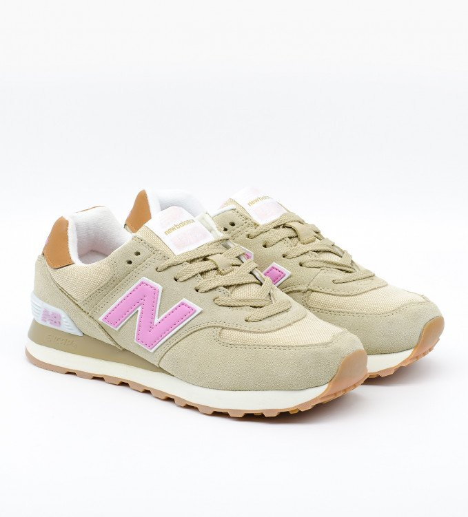New Balance 574 Pink Biscuit