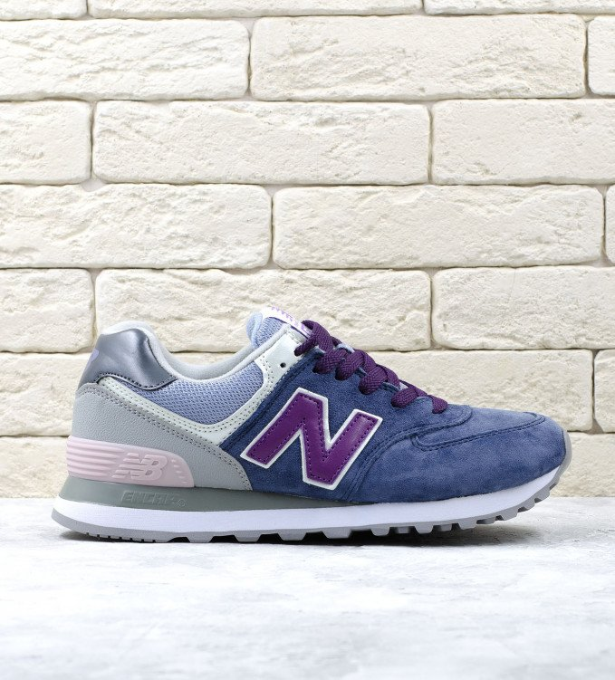New Balance 574 Purple-Blue