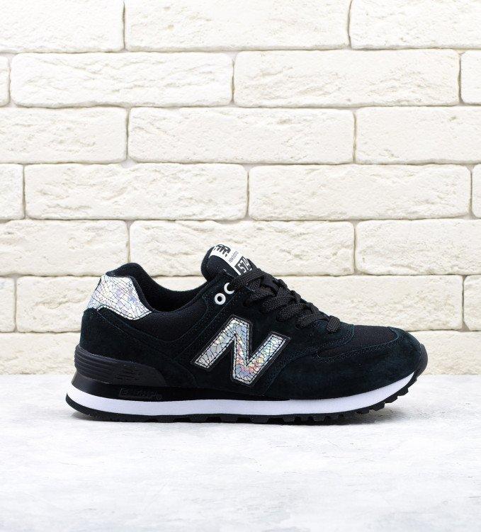 New Balance 574 Shattered black