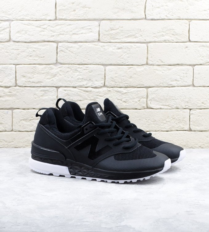 New Balance 574S Gloss black