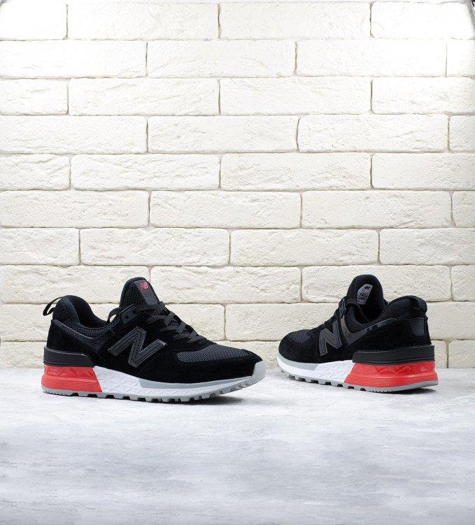 New Balance 574S Red-Black