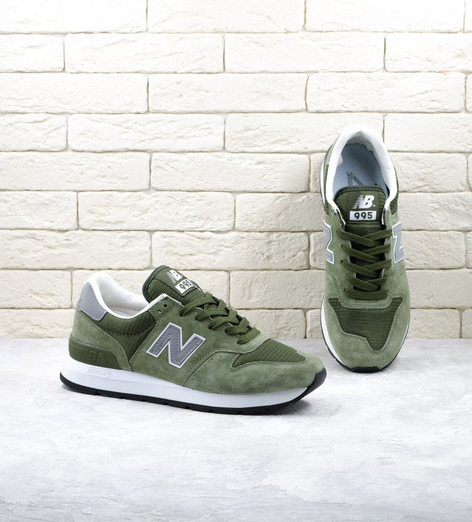 New Balance 995 Made in USA Olive