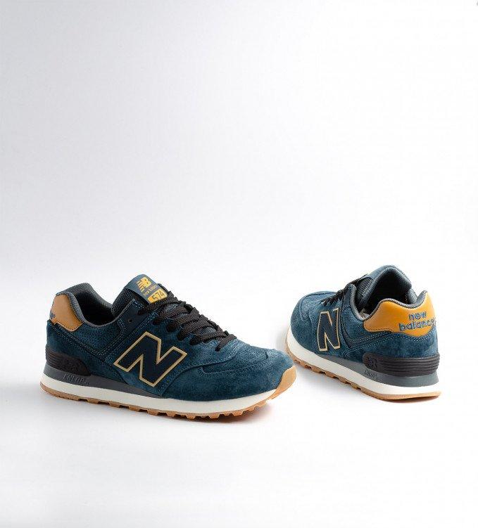 New Balance 574 Azure Blue