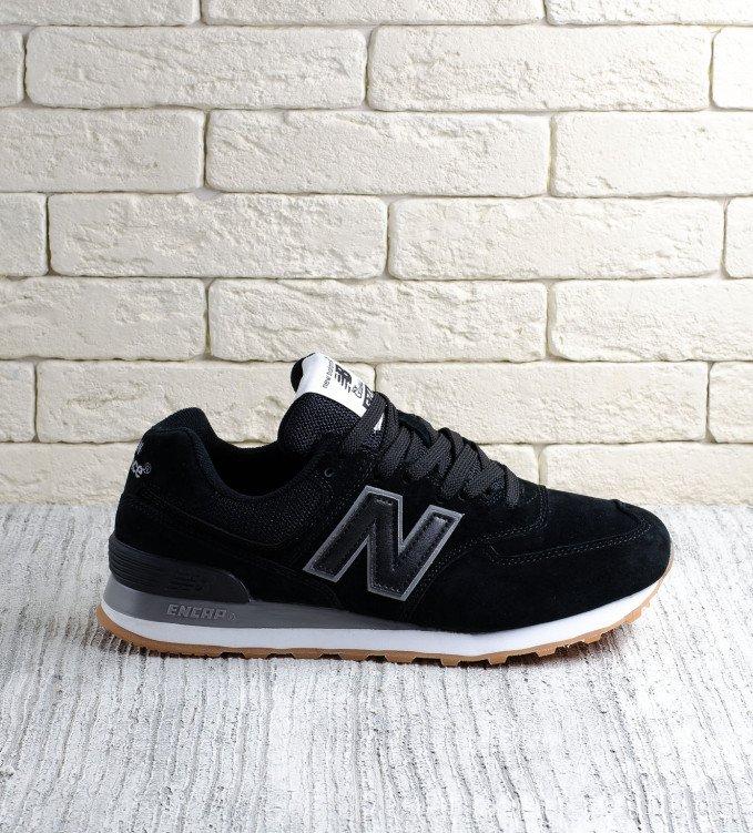 New Balance 574 Black-Brown