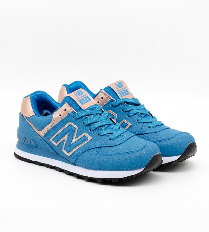 New Balance 574 Blue-Gold