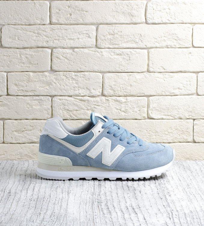New Balance 574 Blue SEG