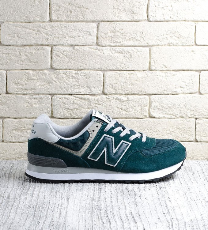 New Balance 574 Emerald Green