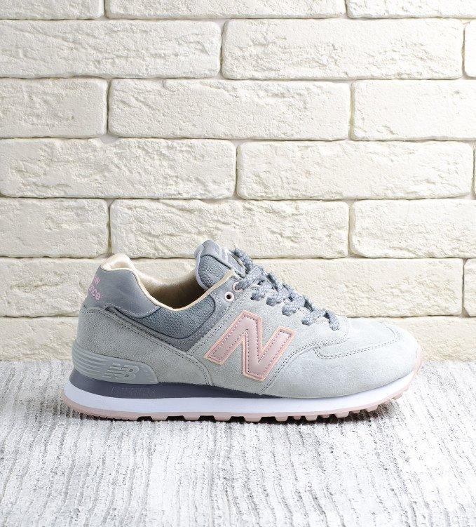New Balance 574 Grey-Pink V2