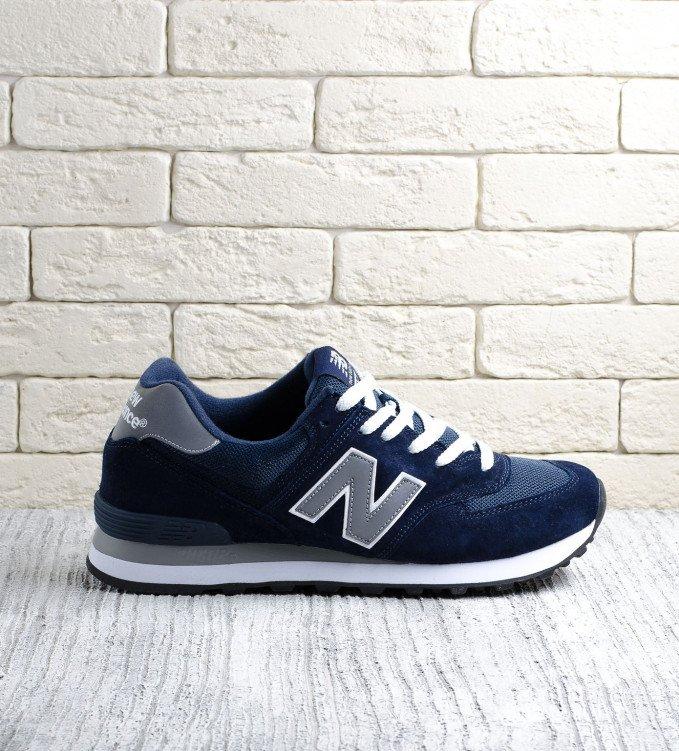 New Balance 574 Reflective Blue