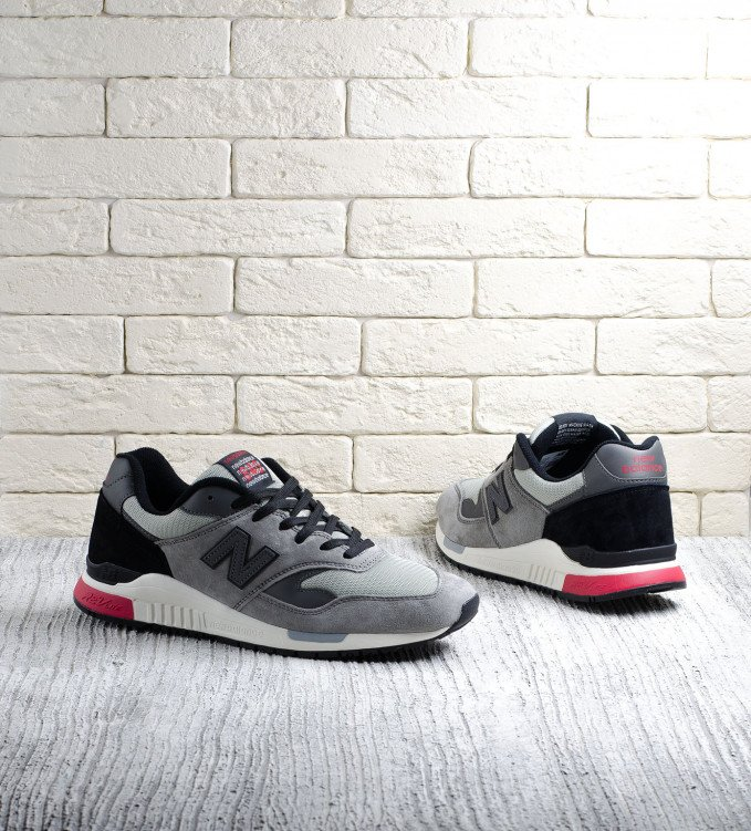 New Balance 840 Grey-Black