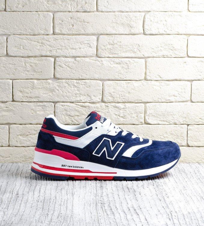 New Balance 997 dark blue-red