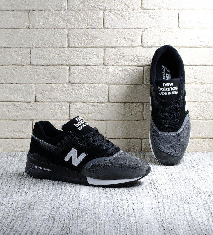 New Balance 997 Graphite black