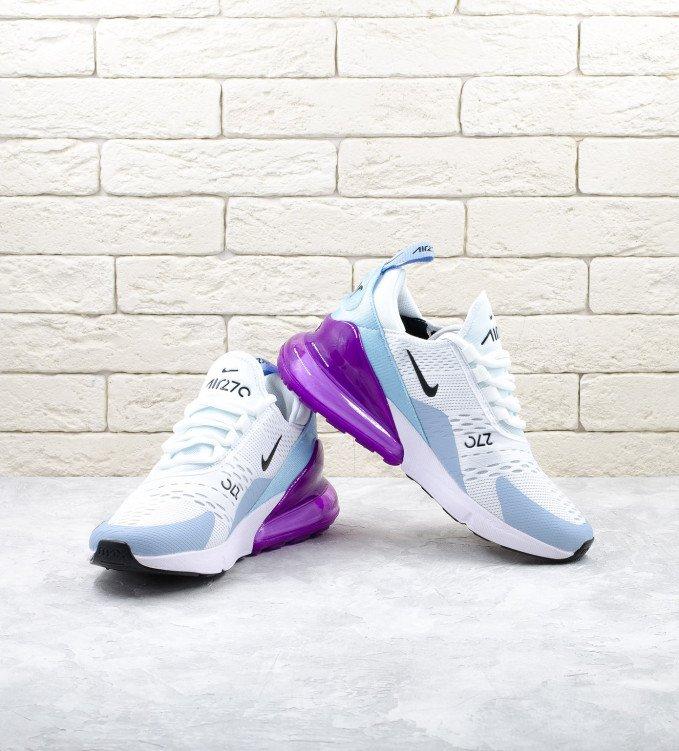 Nike Air Max 270 White-Purple