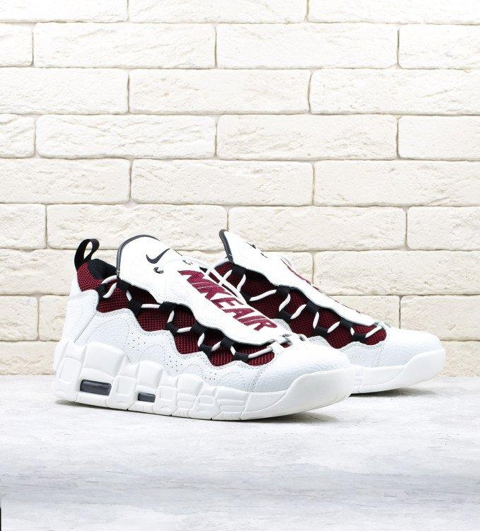 Nike Air More Money Burgundy