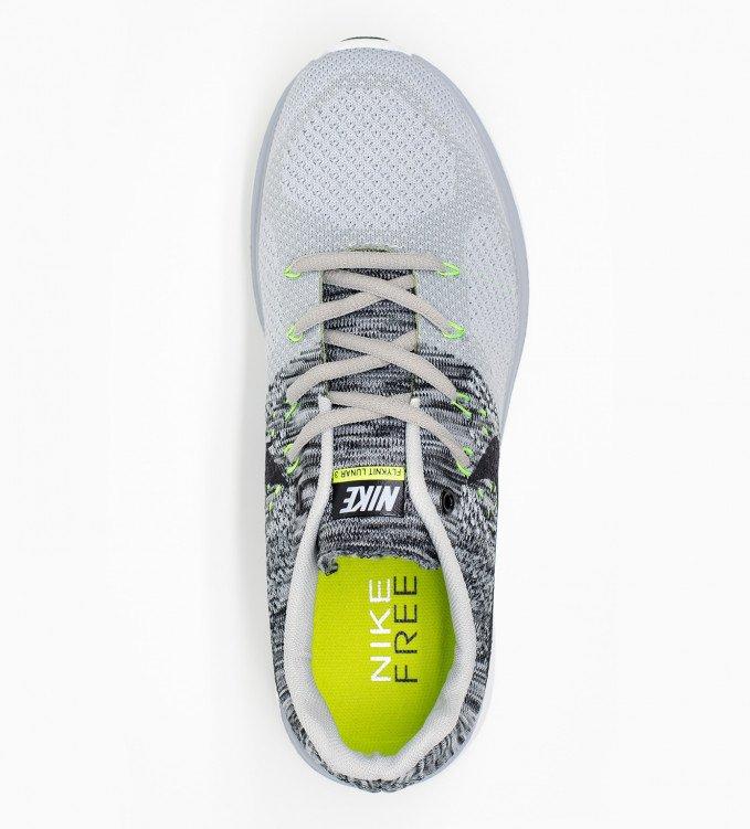 Nike Flyknit Lunar 3 gray
