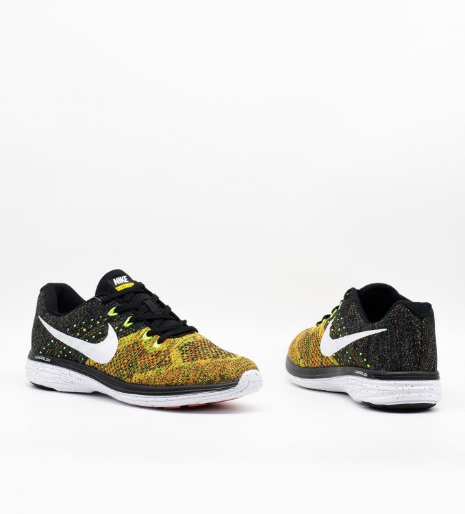 Nike Flyknit Lunar 3 orange