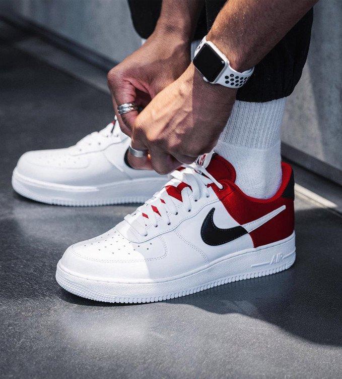 Nike Air Force 1 LV8 NBA White-Red