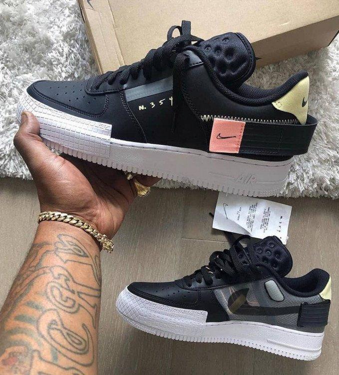 Nike Air Force 1-Type N354 Black
