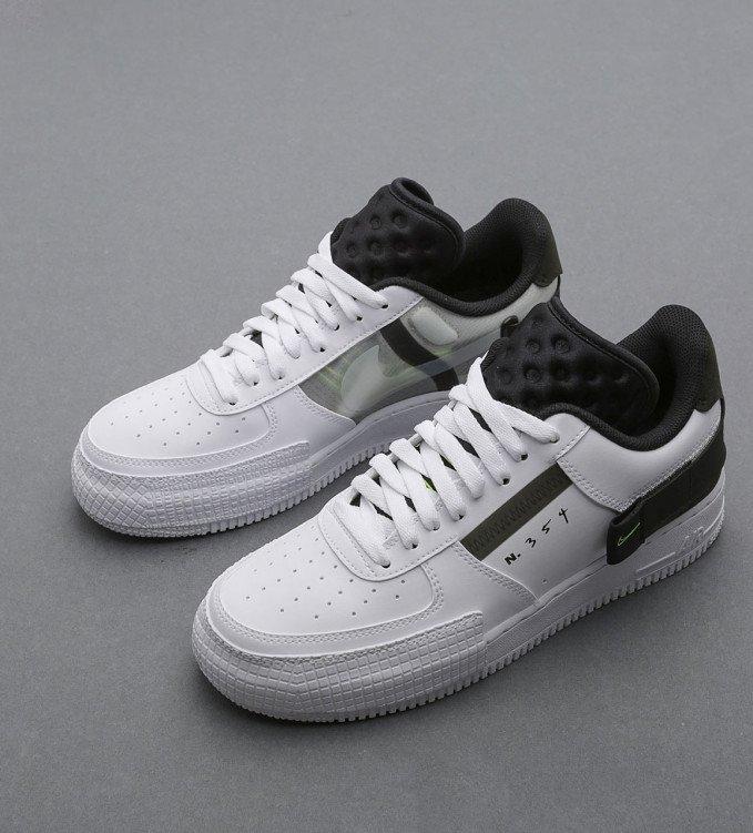 Nike Air Force 1-Type N354 White-Black
