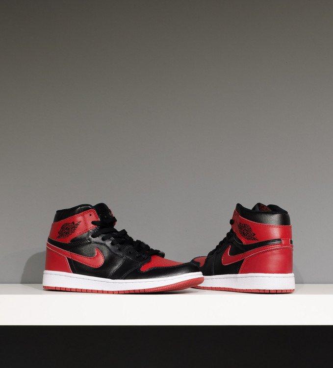 Nike Air Jordan 1 Retro Red-Black
