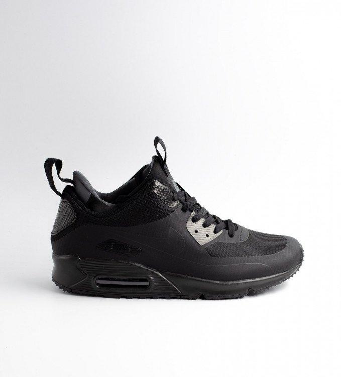 Nike Air Max 90 Mid Winter Total black