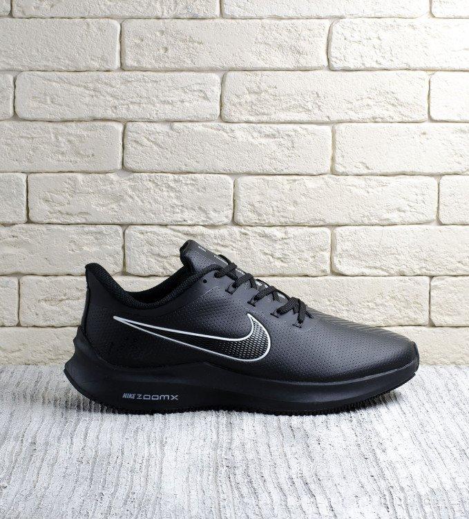 Nike Pegasus Leather black