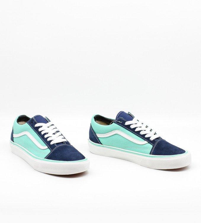 Vans Green blue suede